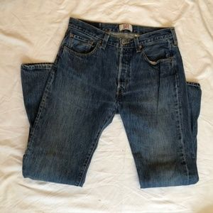 Men's Levi Original 501 Straight Leg Jeans